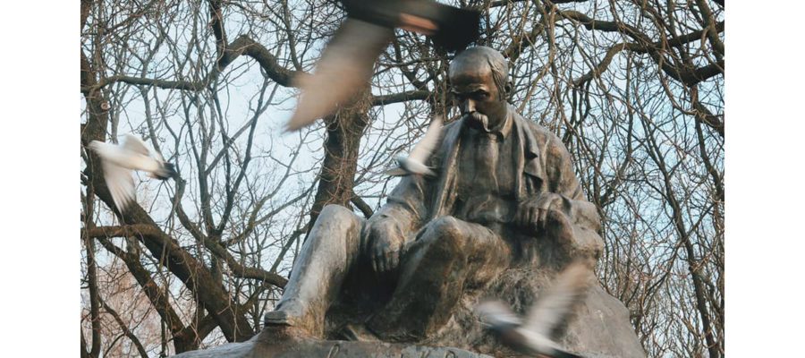 Ромни. Пам'ятник Т. Г. Шевченку.