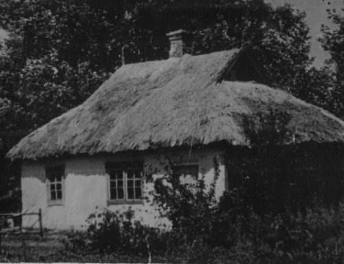 На місці цього будинку знаходився будинок гр-ки Змаги Н., який був спалений карателями (хутір Миколаївка)