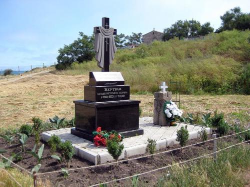 Пам'ятник жертвам більшовистського терору в Криму