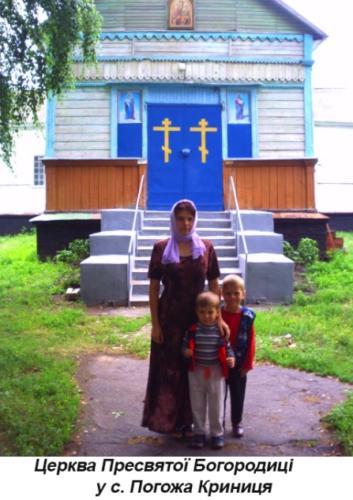 Церква Пресвятої Богородиці у с. Погожа Криниця