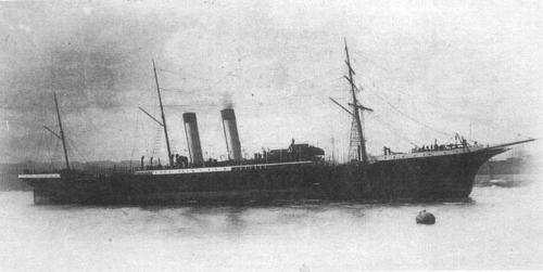 Цивільно-військовий пароплав Петербург.