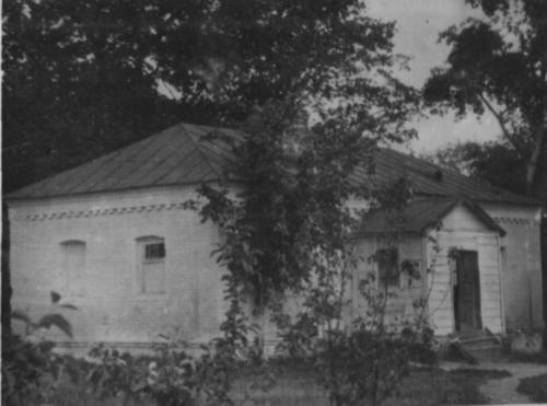 Будинок колишньої тюрми Липоводолинської поліції, в якому перед стратою знаходились радянські активісти