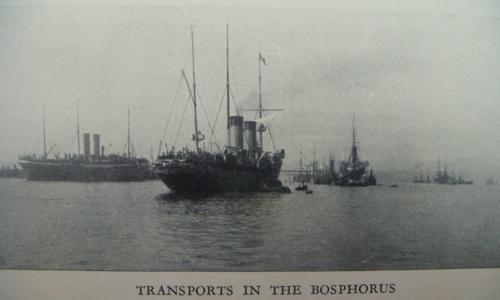 Російський флот у Босфорі